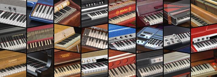 鍵盤楽器36種類