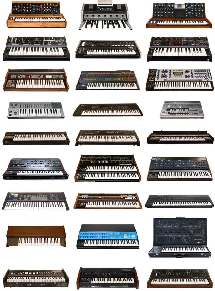 38種類の音源