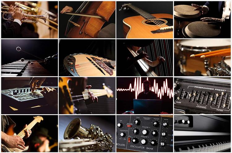 Sampletank 4:収録楽器