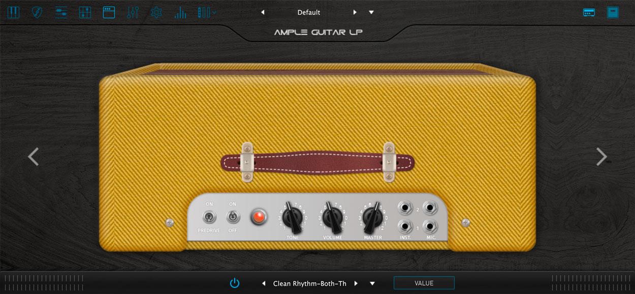 AMPLE GUITAR SH III:アンプシミュレーター