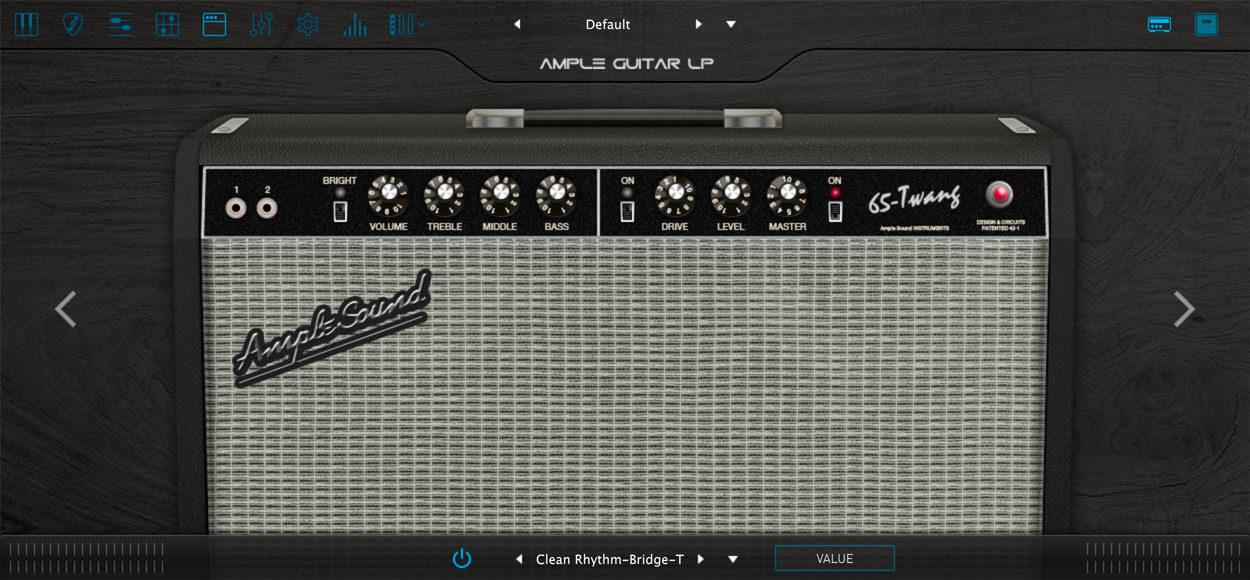 AMPLE GUITAR SC III:アンプシミュレーター