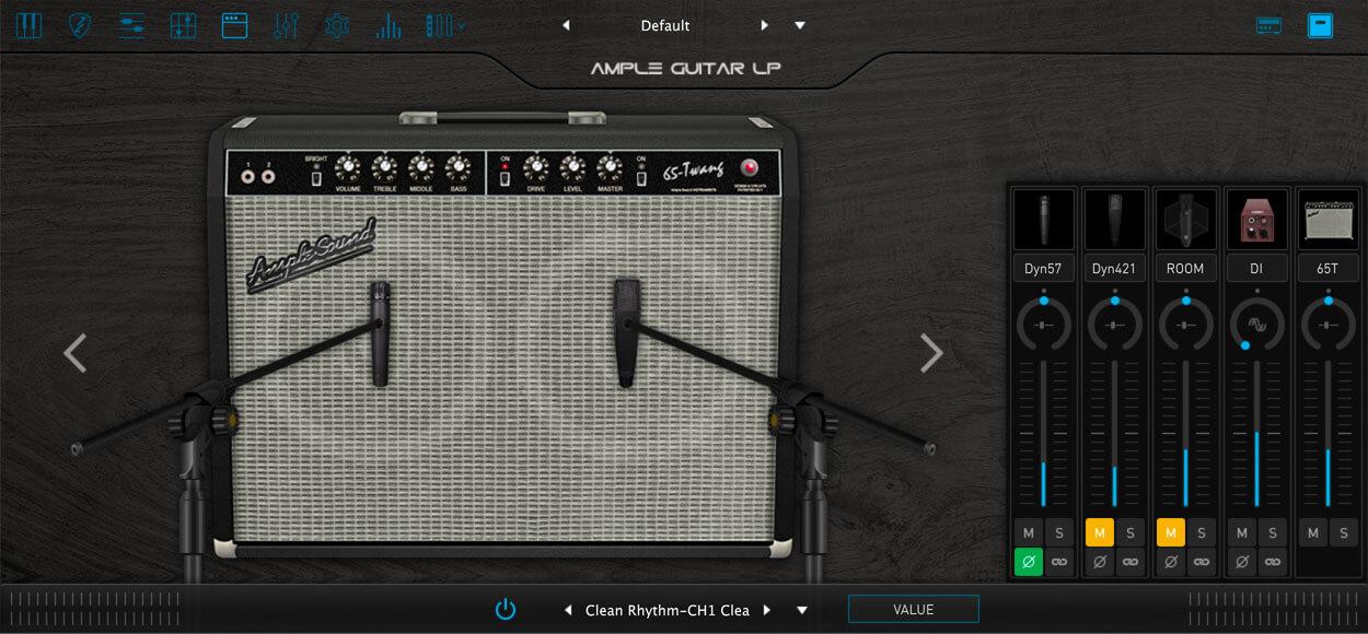 AMPLE GUITAR SC III:キャビネットシミュレーター
