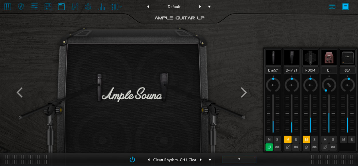 AMPLE GUITAR TC III:アンプシミュレーター