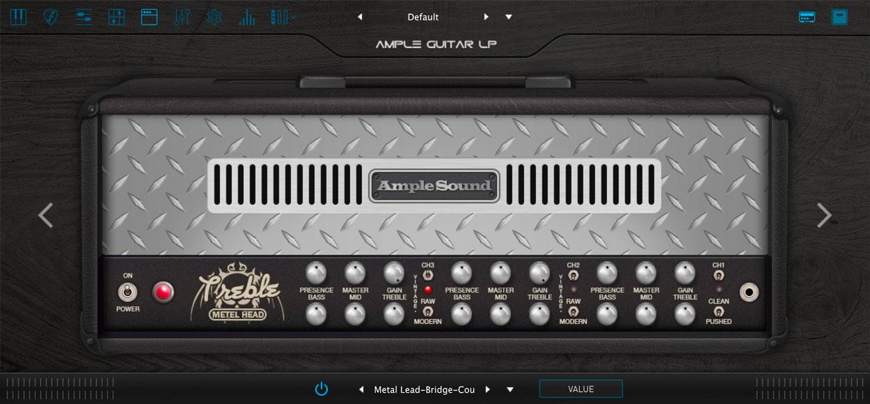 AMPLE GUITAR PF III:キャビネットシミュレーター