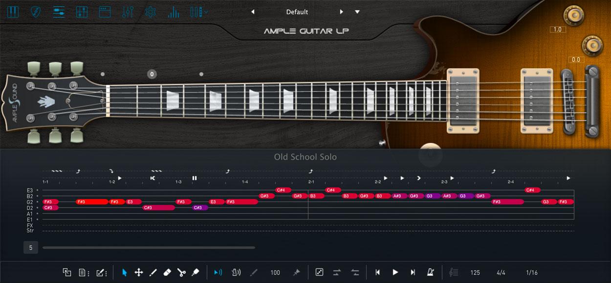 AMPLE GUITAR LP III