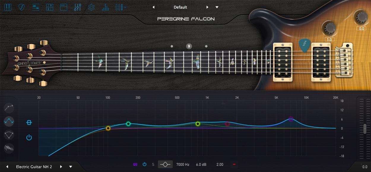 AMPLE GUITAR PF III:アンプシミュレーター