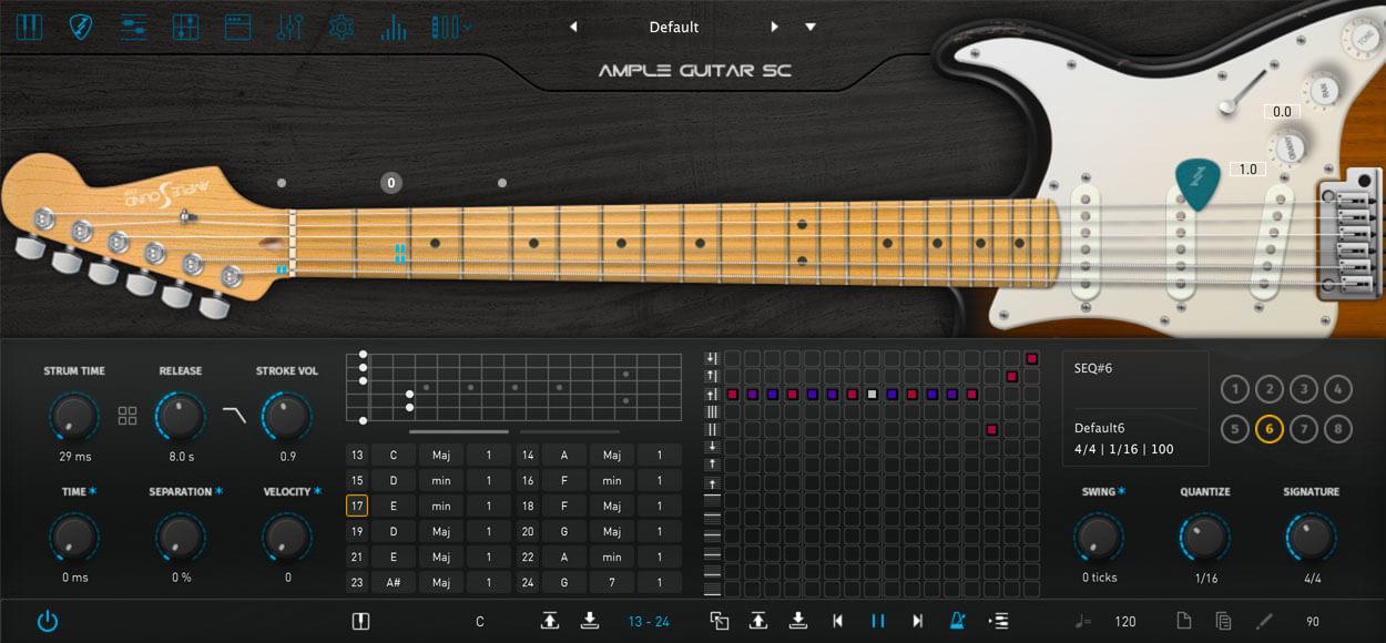 AMPLE GUITAR SC III