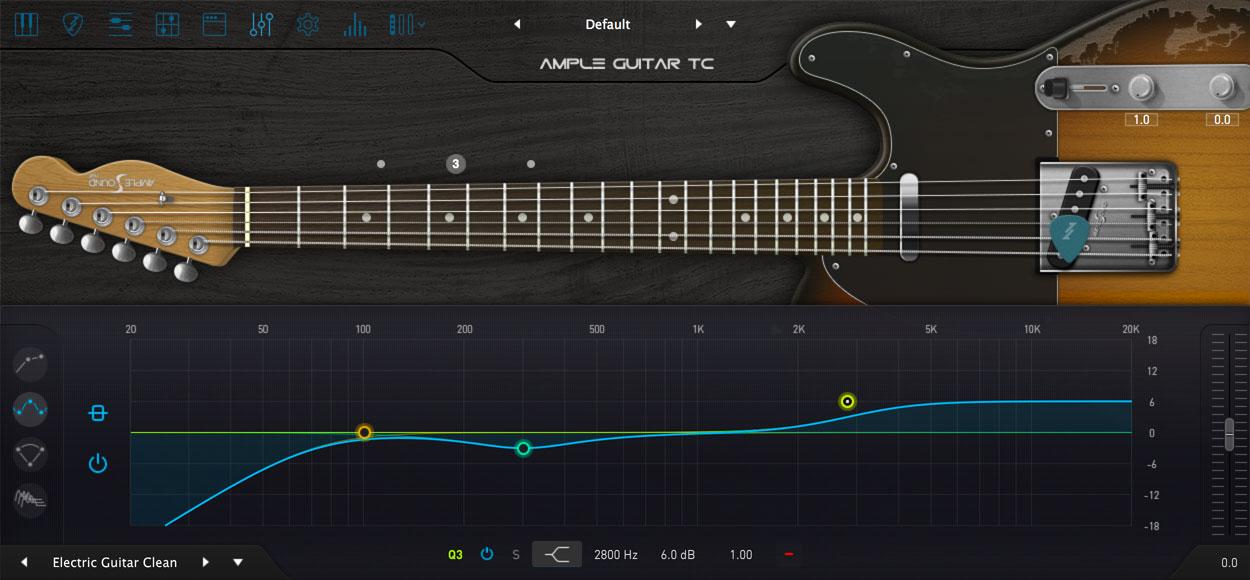 AMPLE GUITAR TC III:EQ