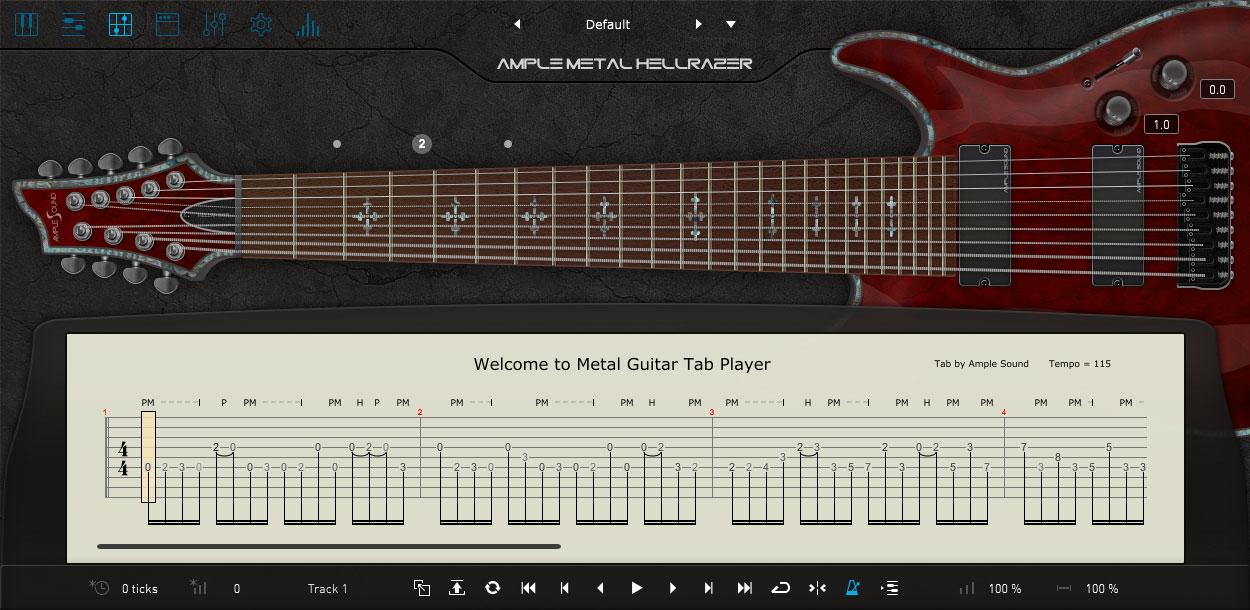 AMPLE METAL HELLRAZER III:タブ譜